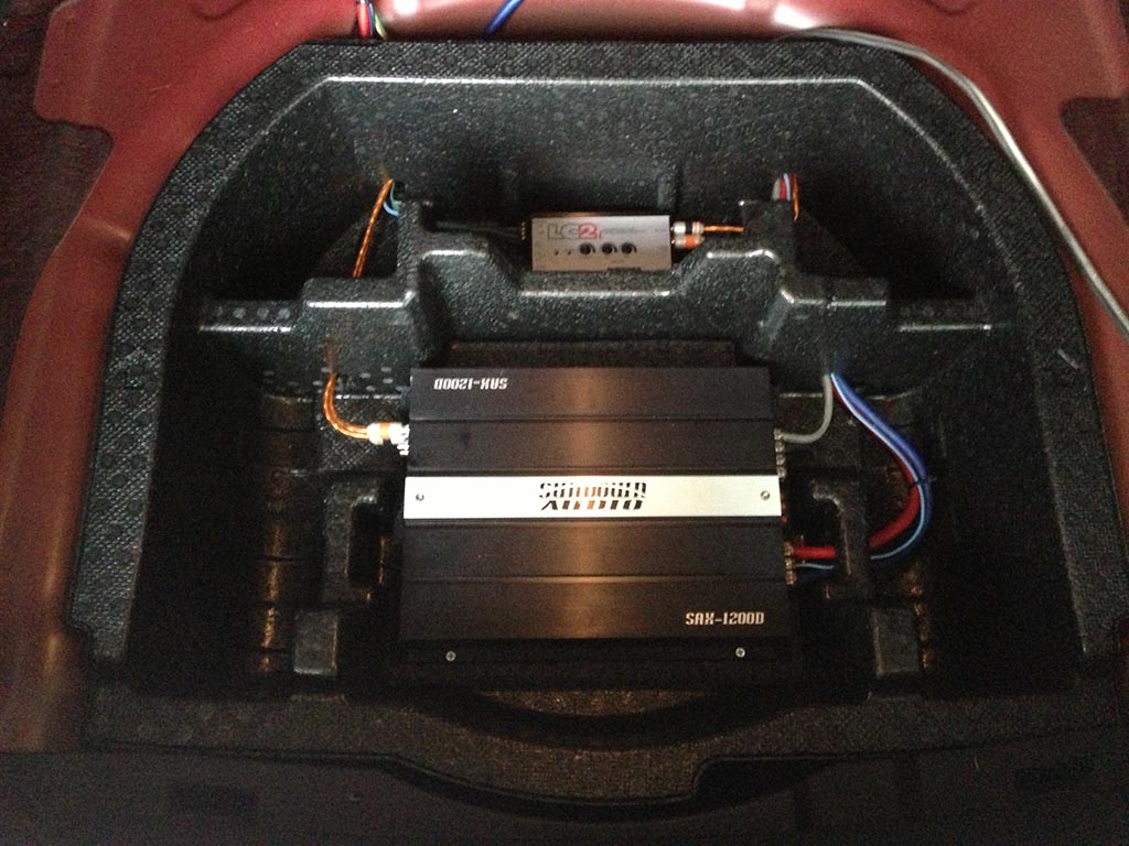 1200 amp wiring kit finished amp install